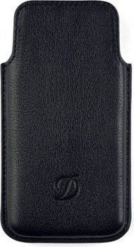 Liberté Iphone Case 5 – Grained Black Leather