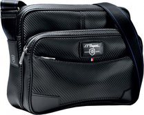 Défi Horizontal Double Pocket Bag – Black