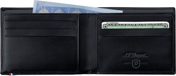 Line D – Billfold For Credit Cards - Elysée Black