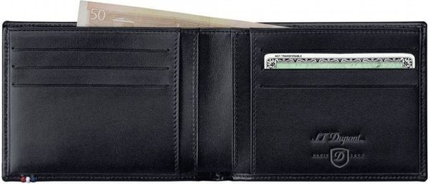 Line D - Billfold For Credit Cards & Id – Elysée Black