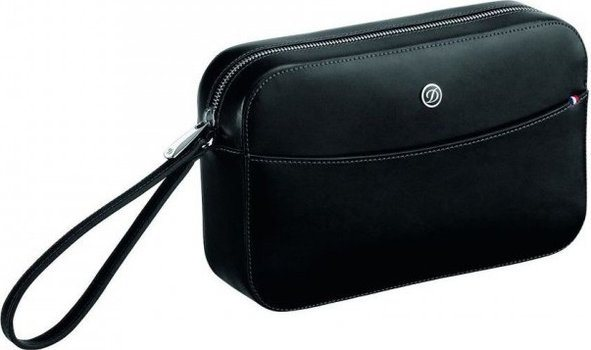 Line D Clutch Bag – Elysée Black