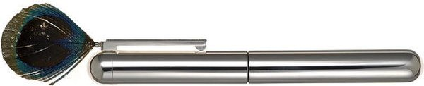 Caran d'Ache Limited Edition Mario Botta Fountain Pen M Silver-Rhodium