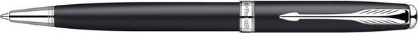 Parker Sonnet Twist Mechanism Ballpoint Pen Matte Black / Palladium Trim