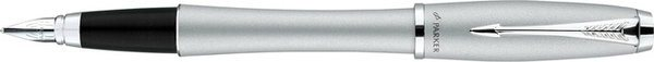 Parker Urban Fountain Pen Grey Lacquer / Chrome Trim